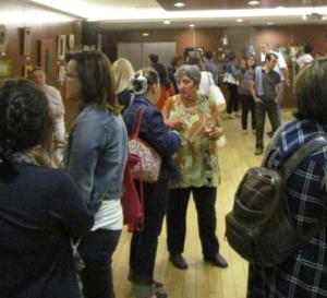 """Les 10 et 11 juin a eu lieu une expo-vente de mosaïques """"Les miroirs d'Olivia"""" au profit de la recherche."""