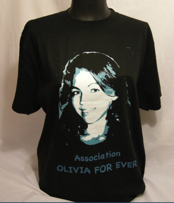 Les tee-shirts solidaires Olivia For Ever