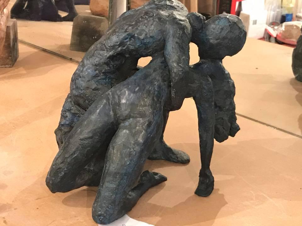 """25, 26 et 27 mai 2018: beau succès  pour l'expo-vente de sculptures """"Olivia for ever"""" au profit de la recherche"""