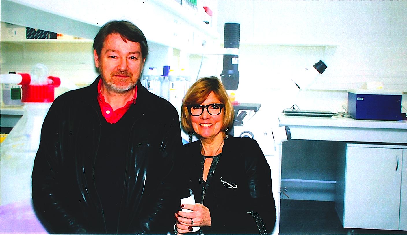 Le Docteur Grill et Brigitte Leprestre Rigaut