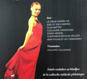INVITATION. Lundi 25 novembre 2019: spectacle-hommage à Olivia au Théâtre 13/Jardin.